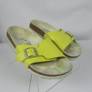 Birkenstock Madrid Slide Sandal Yellow 1 Strap 9